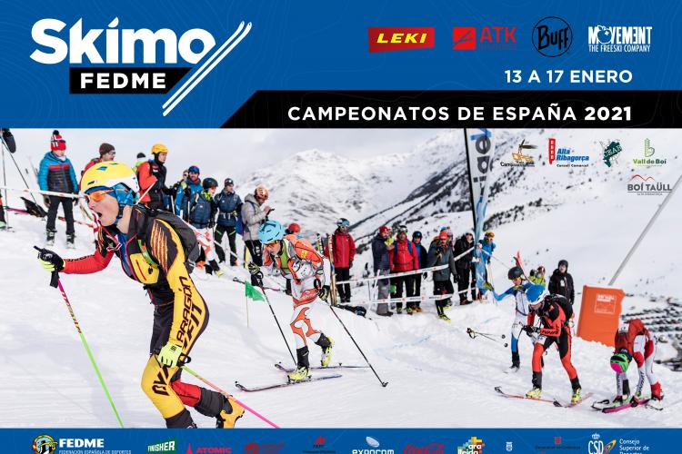 Campeonatos de España de Skimo 2021. Open Vall de Boí.